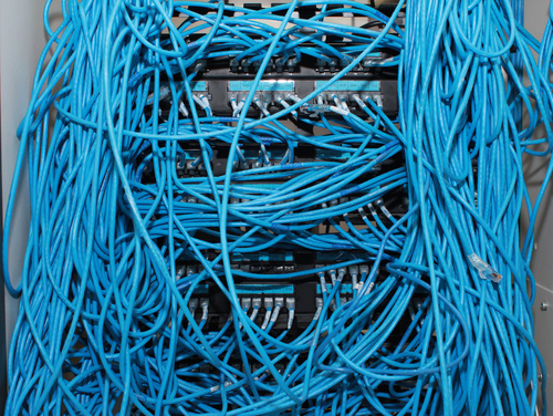 Messy Network No Virtualization