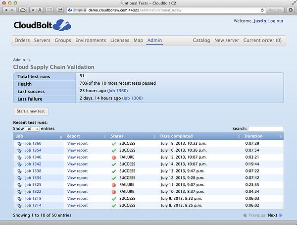 C2 Screenshot Cloud Supply Chain Validator