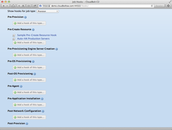 C2 Orchestration Hooks UI