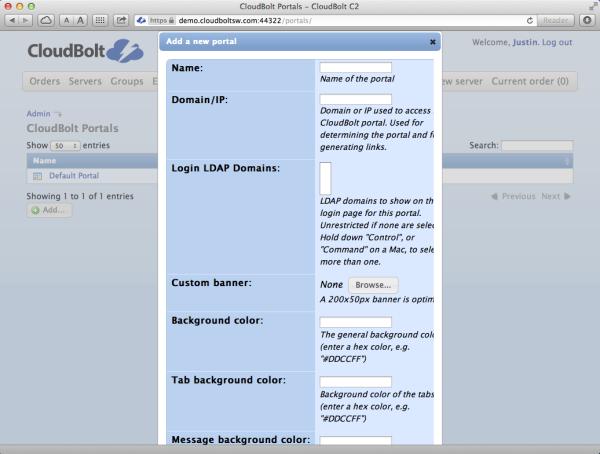 C2 Multi-Portal creation Service Providers