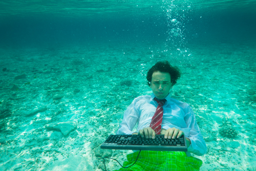 it organization underwater overloaded