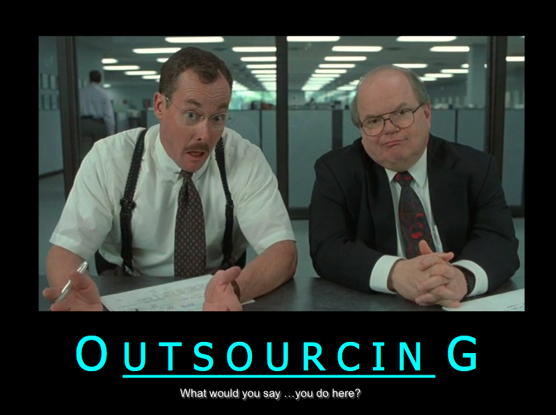 Outsourcing question