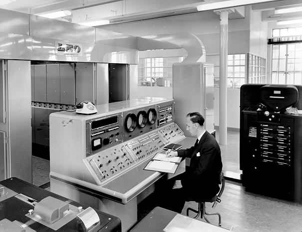 Access to computing used to be highly restricted